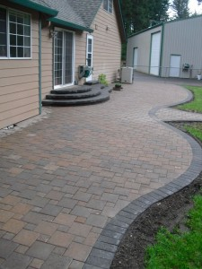 Finish Paver Patio in Washougal WA