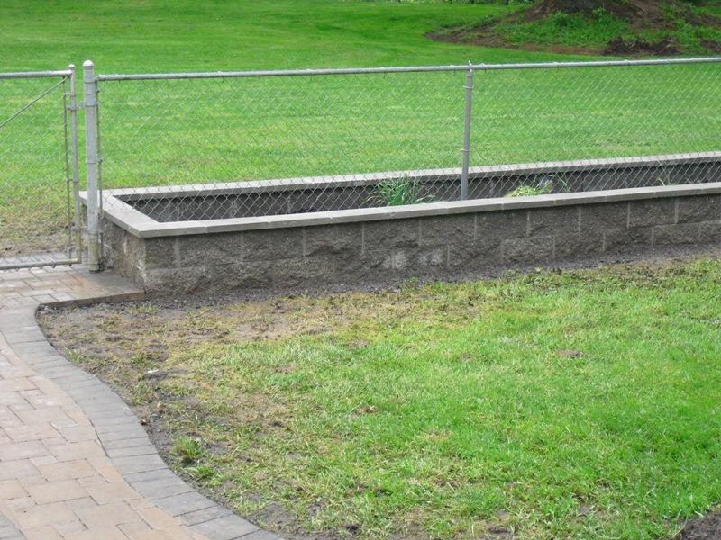 Cinder Block Flower Planter Landscaping Vancouver Wa