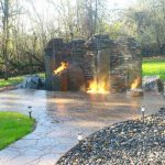 Outdoor Fire Pit Installation From Boulder Falls Landscape in Vancouver, WA and Camas Washington