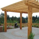 Outdoor wood structures in Vancouver, WA and Camas Washington from Boulder Falls Landscape