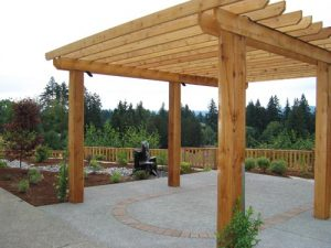 Wood Structure Designer at Boulder Falls Landscape serving Vancouver WA and Camas WA