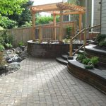 Paver Patios in Vancouver WA and Camas Washington from Boulder Falls Landscape