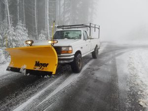 Snow Removal Services in Vancouver WA and Camas Washington from Boulder Falls Landscape