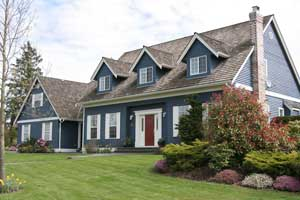 Beautifully landscaped home. Boulder Falls Landscaping provides exceptional HOA landscaping maintenance services in Vancouver WA and Camas WA.