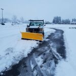 snow removal service by Boulder Falls Landscaping in Vancouver WA and Portland OR.