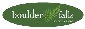 Boulder Falls Landscaping logo